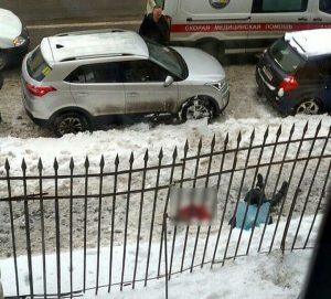 льдом убило студента в спб